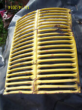 VINTAGE JI CASE  520 DIESEL  TRACTOR -GRILLE SCREEN - 1954 - RAT ROD PIECE ?