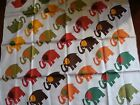 FIORIO Scarf / Carre with Elephants !!! New