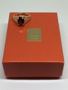 James Avery Ring with Garnet Stone ****Retired***