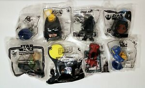McToys Surprise Pack of 8 Toys (Hot Wheels,Star Wars,Spider-Man and more!)