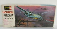 Revell H-112 1/72 Scale Heinkel He 219 Owl Nachtjager Night Fighter