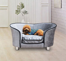 Pawhut Pet Sofa Bed Dog Cat Kitty Puppy Couch Soft Cushion Chair Seat Lounger