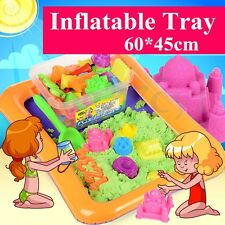 Inflatable Blow Up Sand Tray Holder Sandbox Play Toy Stag Beach Pool Party Game
