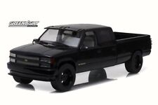 1997 Custom Chevy C3500 Crew Cab Silverado Pickup, Greenlight 19016 1/18 Diecast