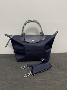 ON HAND Authentic Longchamp Le Pliage Neo Small Navy