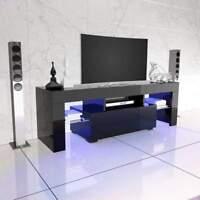 LED TV Stand High Gloss TV Cabinet Modern Living Room Furniture
