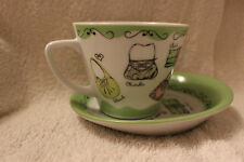 Novelty Contemporary Ceramic Cups & Saucers