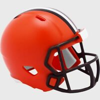 Cleveland Browns NFL Helmet Riddell Pocket Pro Speed 2020 Style