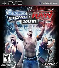 WWE Smackdown Vs. Raw 2011  PS3 - LN - Game Disc Only!