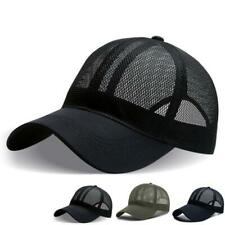 Unisex Full Mesh Baseball Cap Cooling Sunscreen Quick Dry Sports Snapback Hat