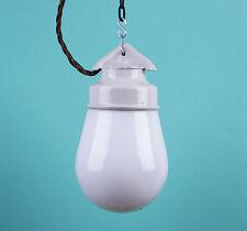 LOFT Lampe Porzellan Keramik Glaskolbenlampe Industrielampe LAMP Bauhaus CCCP ,