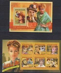 D902. Guinea - MNH - Famous People - Lucille Ball