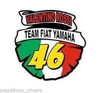 Pegatina Adhesivo Sticker 46 Valentino Rossi Escudo 10 CMS Aufkleber Autocollant