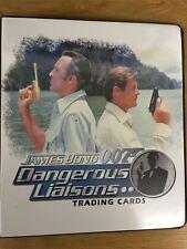 James Bond Dangerous Liaisons Official Rittenhouse Binder