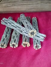 "6 - 6"" Dry Cholla Cactus Wood, Reptile Habitat Fish craft supply, Choya Log"