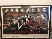 Tyler Stout Reservoir Dogs Mondo Signed And Numbered Artist Proof Screenprint