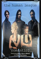 Human League Romantic? poster!!!  Philip Oakey Joanne Catherall Susan Ann Sulley