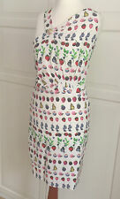 Versace for H&M Kleid Seide Cruise Collection Dress EUR 38 size US 8 UK 12