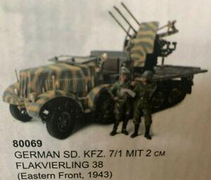 Unimax Forces Of Valor 1:32 German Sd.Kfz.7/1 MIT 2 cm Flakvierling 38, No.80069