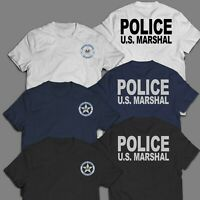 New Police Department U.S. US United States Marshal Special Force T-Shirt