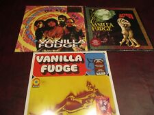 VANILLA FUDGE SET THE BEST OF VANILLA FUDGE S/T RSD & SPIRIT OF 67 LIMITED LP'S