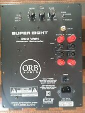 Orb Super Eight Subwoofer Amp Electronics board Plate  used
