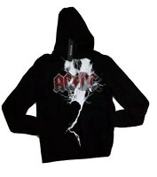 Men hudson pullover Hoodie size LARGE 100%AUTHENTIC ACDC black