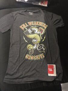 BNWT Reebok Kill Weakness Crossfit T-shirt M - 2 For $15