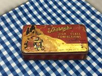 """Vintage """"Thorne's"""" Confectionary Tin."""