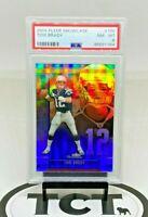 2004 Fleer Showcase NFL Football Tom Brady PSA 8 New England Patriots