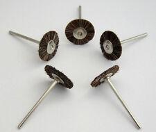 """200 pcs Dental Lab Horsehair Brush Polishing Wheel 2.35mm 3/32"""" shank"""