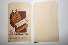 13314c 2 Reklame Papier Tüten Tabakwaren vom Fachgeschäft um 1940 old paper bags