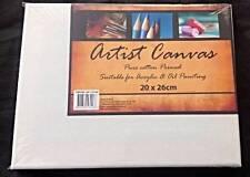 Artist Canvas Blank Canvas 20cm x 26cm Wholesale Bulk Lots Brand New
