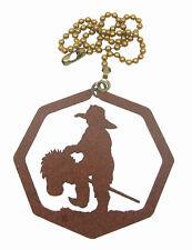 Little Cowboy Fan Pull - Ornament