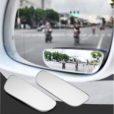 2 Stck Auto KFZ rund Konvex Rückansicht Toter Winkel Spiegel Weitwinkel 360°