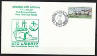 United States 1989 FDC cover Steam boat Phoenix Canaveral Port