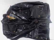 BELSTAFF PANTHER  Tg.42 Giacca Donna 100% PELLE NERO  100% Waterproof