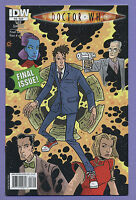 Doctor Who #16 2010 Final Sacrifice Final Issue Tony Lee Matthew Dow Smith IDW L
