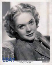 Alice Faye sweet smile Wake Up and Live Vintage Photo