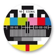Magnet Aimant Frigo Ø38mm Symbole Televiseur Tele Television Vintage TV Mire