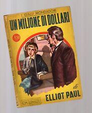 Elliot Paul- Un milione di dollari
