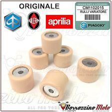 KIT 6 RULLI MASSETTE VARIATORE ORIGINALE PIAGGIO LIBERTY MOC 2T & ELLE 50 2012