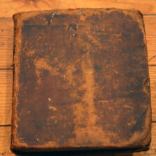 PERRY'S Royal Standard English DICTIONARY Antique Leather-Bound c. 1777