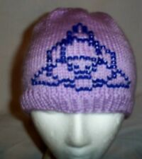 Hand Knit ~ Beaded Beanie Hats ~ Triquetra - Ready 2 Ship