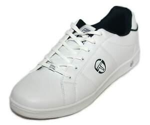 Sergio Tacchini Mens White Prince Lace Trainers Shoes UK 12 EU 47