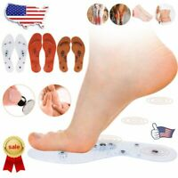 NEW Acupressure Slimming Insoles Foot Massager Magnetic Therapy Weight Loss RT