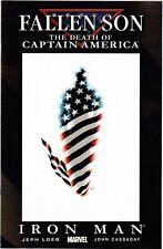 Fallen Son The Death Of Captain America #5 Iron Man / Marvel Comics
