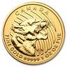 2015 Canada 1 oz Gold Growling Cougar .99999 BU (No Assay) - SKU #90027