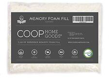 Coop Home Goods - Adjustable Shredded Memory Foam Pillow - Refill - Foam 1/2 LB