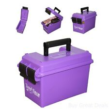 Caliber Ammo Can Padlock Box Case Plastic Military Storage Shoot 50 Brand